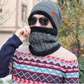 2016 Шапочки Трикотажные мужские Зимние Тепловой Шляпа Шапки Skullies Bonnet зимние Шапки Для Мужчин Женщины Шапочка Открытый Лыжи Теплый Cap