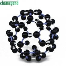 CHAMSGEND Scientific 23mm Chemistry Teaching Crystal Carbon 60 C60 Atom Molecular Model Kit Set S30