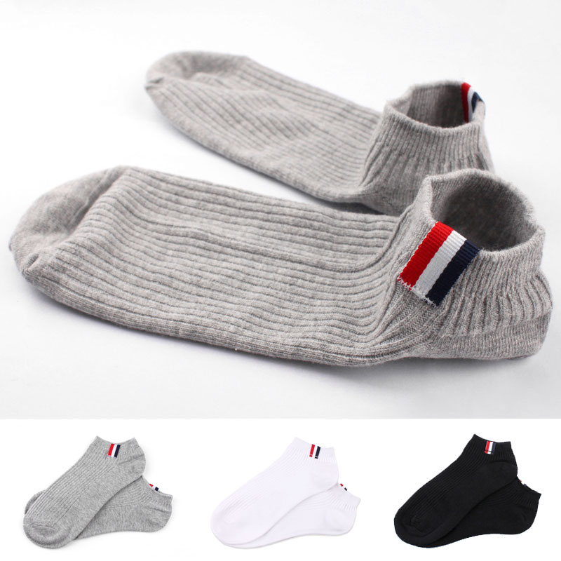 Socks summer men short socken contact calcetines shallow couple sox cotton chausette breathable deodorant women soks