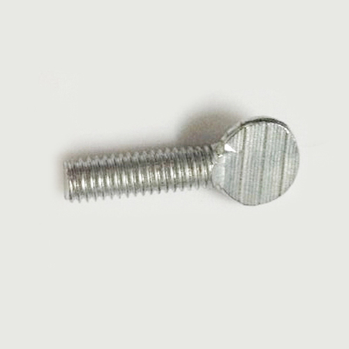 Thread Size 1//4-20 Thread Size 1//4-20 FastenerParts Steel Spade-Head Thumb Screw