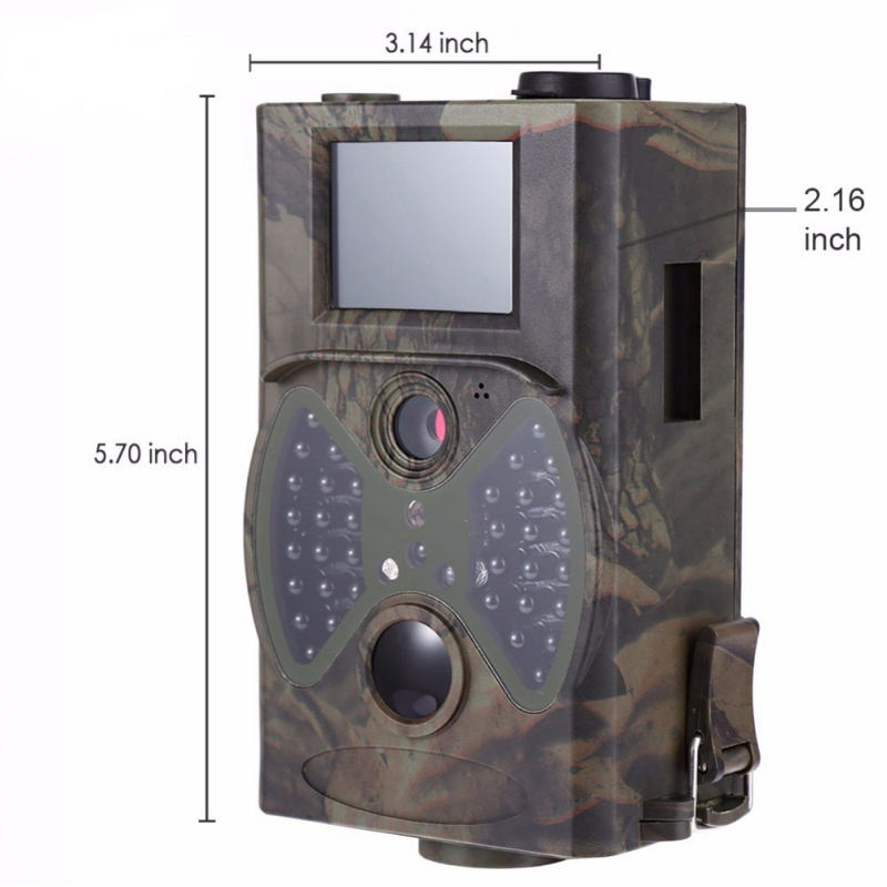 12MP Wildlife Trail Cameras HC300A Hunting Camera Scouting Digital Camera Infrared Trail Hunting Trap Game Camera 8 MB to 32 GB atatry 001m wildlife digital trail hunting camera