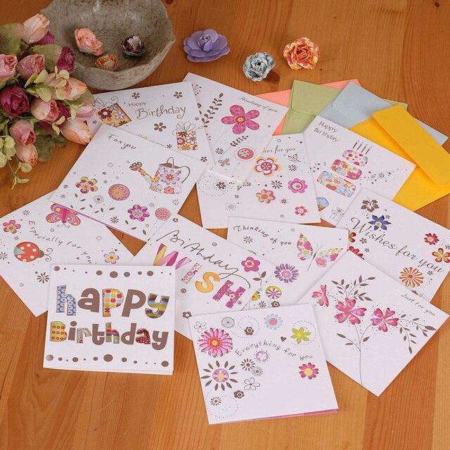 5pcsset Korea Hollow Creative Teachers Day Greeting Cards Birthday