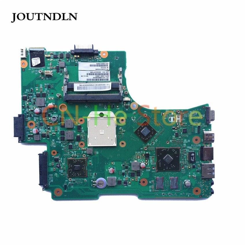 JOUTNDLN PARA Toshiba L650D L655D laptop motherboard V000218050 6050A2333201-MB-A02 DDR3 s1 & cpu livre