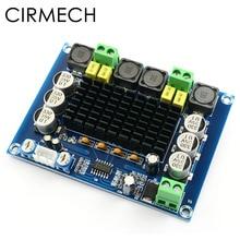 CIRMECH Amplificador Digital de alta potencia TPA3116D2, TPA3116, amplificador de potencia de Audio estéreo de doble canal para altavoces, salida estéreo de 120W * 2