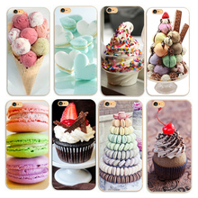 Summer ice cream Phone Hard Cases For iphone 4 4s 5 5s se 6 6s plus 7 7plus 8 8plus Case(China)