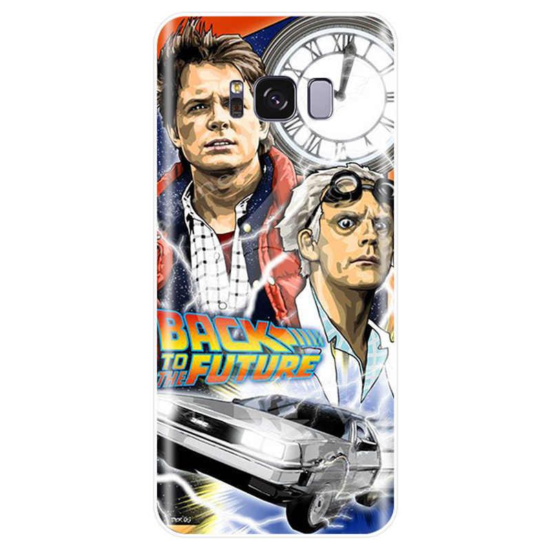 Para el futuro de la cubierta de silicona suave TPU caja del teléfono para Samsung Galaxy NOTE 8 9 S6EDGE S6 S7 s8 S9 S10 más S10E