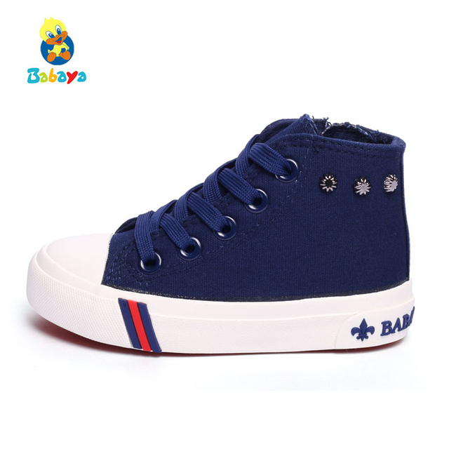05ef8cb7 Children sneakers boots kids canvas shoes girls boys casual shoes mother  best choice baby shoes canvas special sale