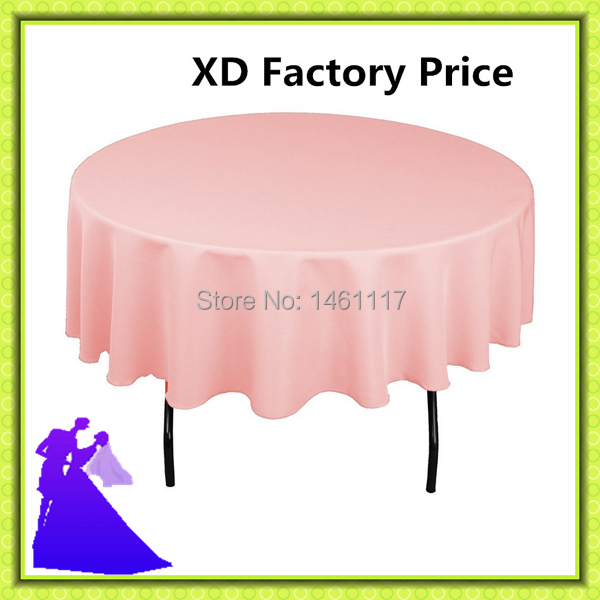 Online Buy Wholesale round white tablecloths cheap from China
