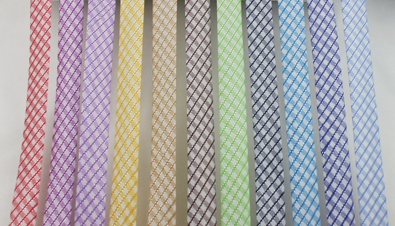 Polyester 3 4 quot 20mm Double Silver Metallic Check Bias Tape Bias Binding For DIY Garment Sewing And Trimming 25yard roll in Ribbons from Home amp Garden