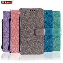 Mokoemi Pattern Flip Wallet Leather 5.5″For Nokia 6 Case For Nokia 6 Cell Phone Case Cover