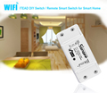 ITEAD Sonoff Interruptor Wifi WiFi Inteligente de Control Remoto Inalámbrico 433 mHz RF Interruptor Wifi Domótica Inteligente Interruptor de La Luz