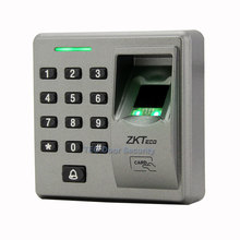 RS485 Slave Reader ZK FR1300 Support Fingerprint + RFID + Keypad Smart Finger Sensor With Doorbell 86cmx86cm Socket Installation
