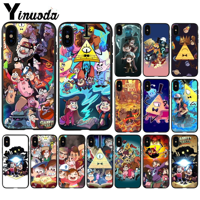Phone Bags & Cases Half-wrapped Case Earnest Yinuoda Design Cartoon Anime Gravity Falls Family Art Novelty Fundas Phone Case For Iphone 5 5sx 6 7 7plus 8 8plus X Xs Max Xr To Ensure A Like-New Appearance Indefinably