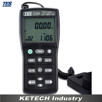 Illuminometer Licht Meter  digitale Tragbare Luxmeter TES-1339R