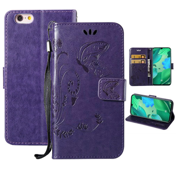 Butterfly Leather Case For <font><b>Samsung</b></font> Galaxy S6 S7 Edge A6 A8 S8 S9 Plus <font><b>J2</b></font> <font><b>Pro</b></font> J4 J6 J8 2018 J3 J5 J7 Neo A3 A5 2017 Note8 9 <font><b>Cover</b></font> image