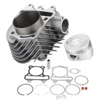 Big Bore 61mm Motorcycle Cylinder Kit Piston Gasket Set for GY6 150CC 200CC Engines Engine Parts Motorcycle Parts