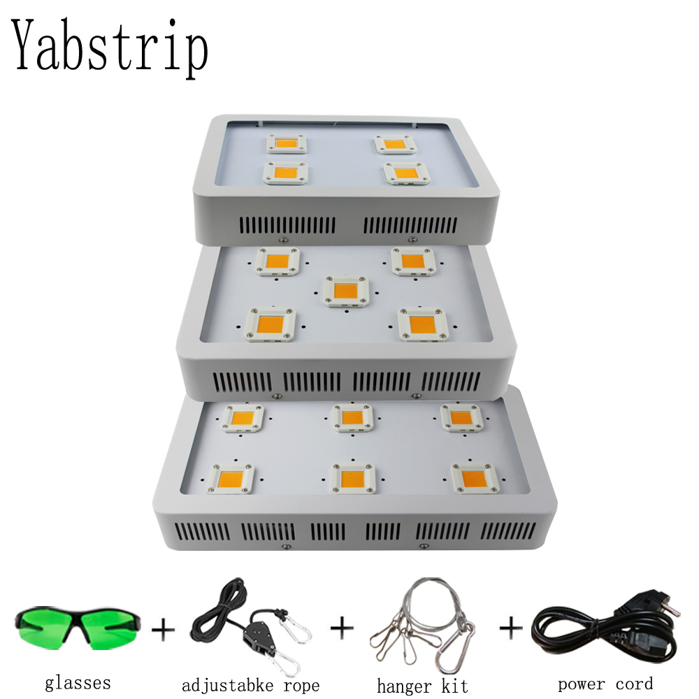 Yabstrip LED Grow Light 1800W Full Spectrum COB Plant Lamp Fitolamp For Indoor Tent Flower Lettuce Seeding Greenhouse Phyto Lamp