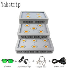 Yabstrip LED grow light 1800W full spectrum COB plant lamp fitolamp For indoor tent flower Lettuce seeding Greenhouse phyto lamp(China)