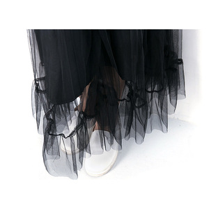 Image 5 - Teenager Mädchen Kleidung Set Halben Hülse Schwarz Off Schulter Tops Mesh Rock 2 Stück Set Sommer Boutique Kinder Kleidung Mädchen outfits