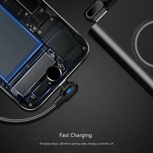 Image 5 - Cable Micro USB de 90 grados, Cable de carga rápida de 1M y 2M para Samsung, Xiaomi, Huawei, HTC, LG, Android
