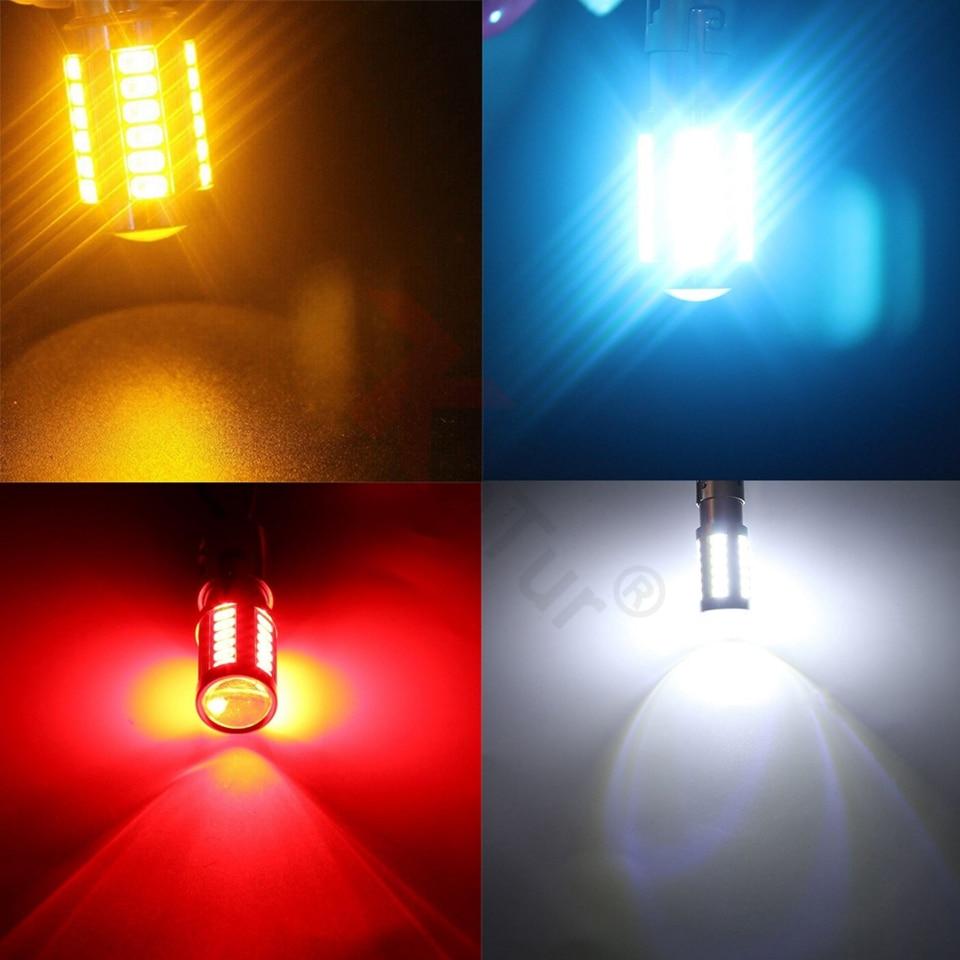 2бр Супер ярки 7443 LED лампи за - Автомобилни светлини - Снимка 6