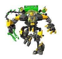 Decool 10489 hero nhà máy 6 hero star solider evo xl MÁY Robot Hành Động hình 3D building block đặt đồ chơi cho trẻ em