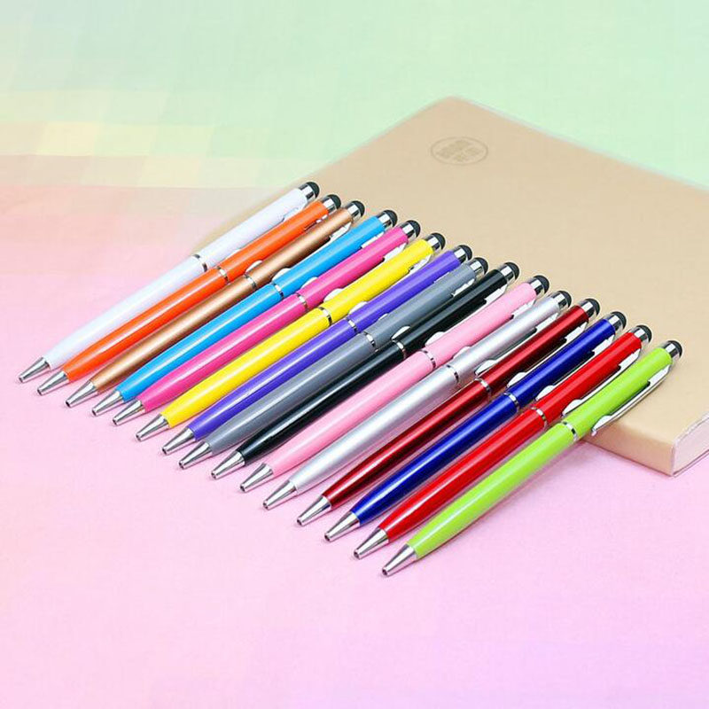 1 / Batch Capacitive Touch Screen Stylus For Iphone54s Ipad 3 / 2 Ipod Touch Suit Universal Smartphone Tablet Computer Pen
