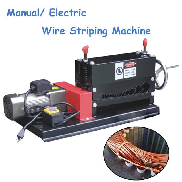 Manual Wire Stripper Electric Dual Use Wire Striping Machine ...
