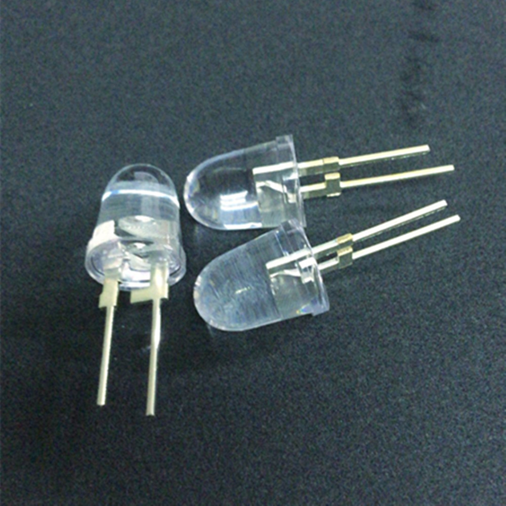 50pcs 3mm IR infrared LED 850nm Lamp High Power
