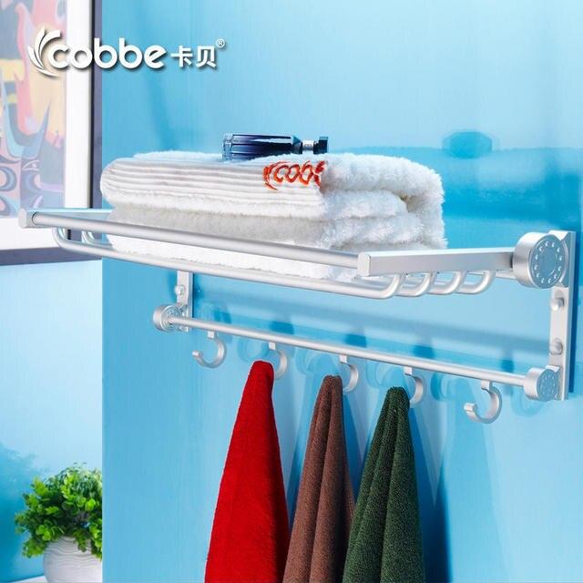 authentieke cabernet ruimte aluminium badkamer handdoekrek badkamer ...