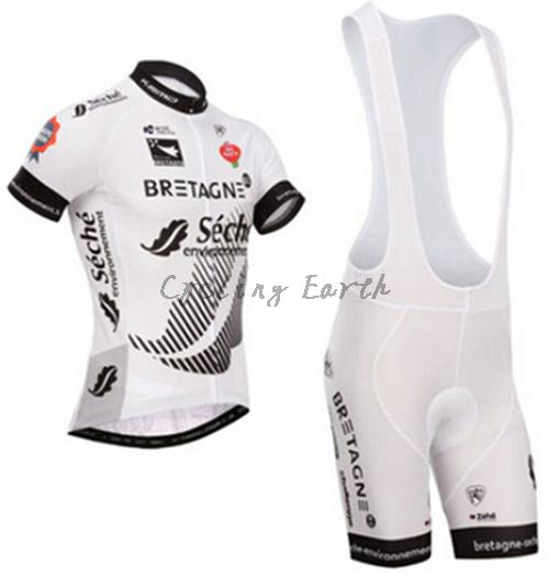Breathable! Sech 2015 white short sleeve cycling jersey bib shorts set bicycle wear clothes jersey pants,Quick-dry! катушка 11 dd 11coil tek для teknetics alpha delta gamma omega etekpro etek skd