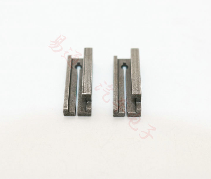 <font><b>HU64</b></font> Key Machine Clamp Fixture Parts For Benz Keys Cutting Duplicating Copy Machine Clamps 2 pcs/lot image