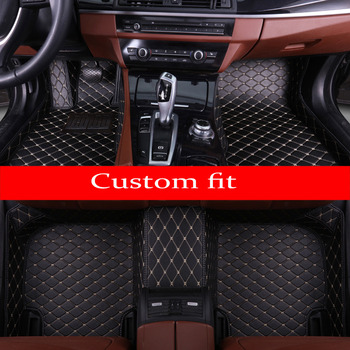 Car floor mats specially for Chevrolet Cruze 5D car-styling heavy duty carpet leather rugs floor liners (2009-now