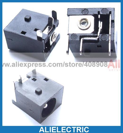 500 pièces 3pin 5.5mm x 2.1mm DC prise Jack femelle PCB chargeur prise d'alimentation à souder