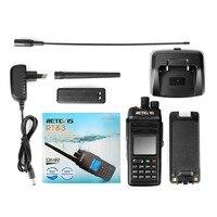 מכשיר הקשר ניו Retevis RT83 10W DMR דיגיטלי מכשיר הקשר (GPS) IP67 Waterproof מכסים נגד אבק UHF Portable שני הדרך חובב רדיו + תוכנית טלוויזיה (5)