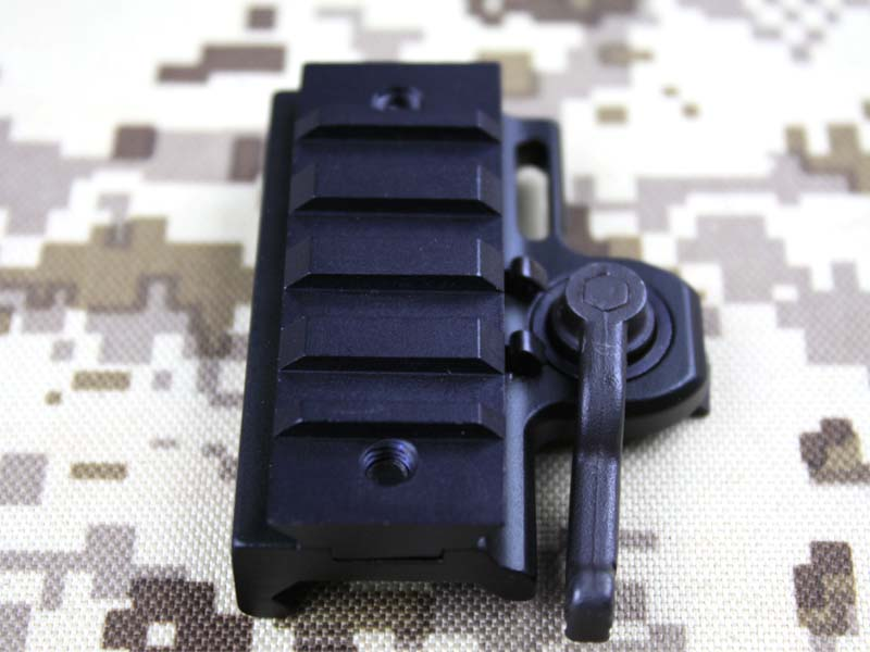 Tactical QD quick release adaptador de montagem para 20mm Weaver Picatinny De Riser Rail fit for551 552 553 556 557 558 Red dot-shiping livre