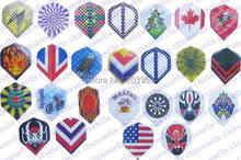 цена на 12pcs electronic dart flag flights material Imports PET