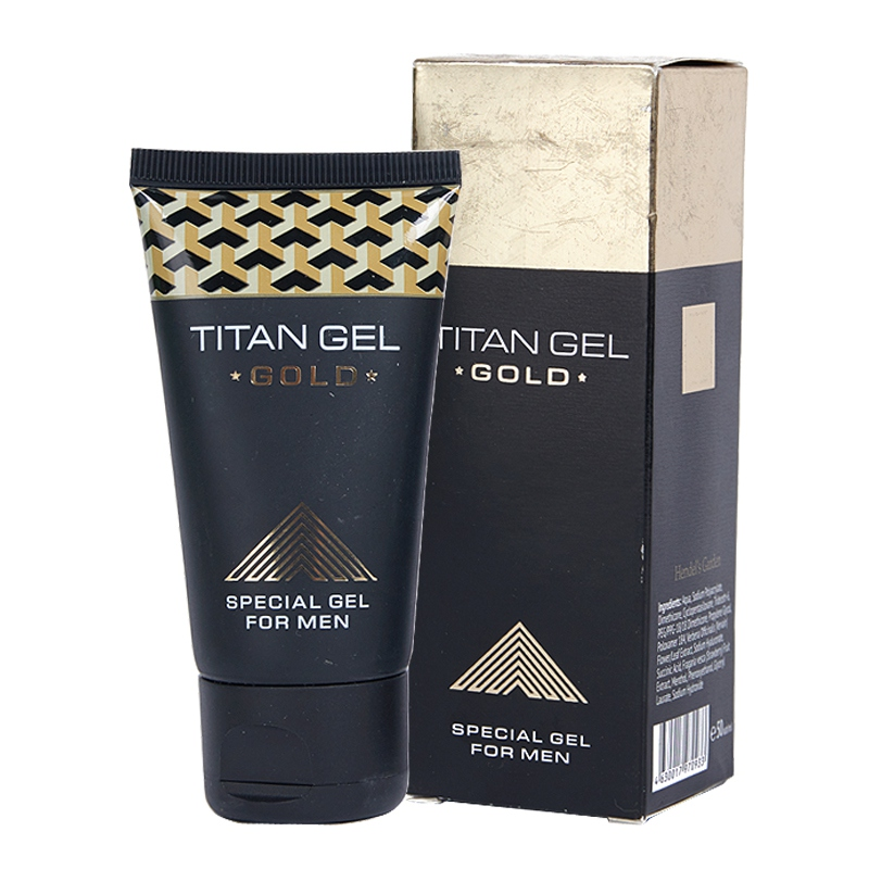 50ml Big Dick Cream Original Russia Titan Gel Gold For Men Intimate Lubricant Big Dick Thickening Enlargement Love Delay Cream