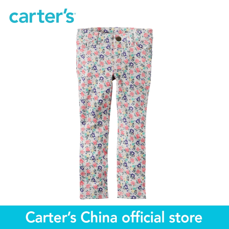 Carter's 1pcs baby children kids Floral Jeggings 236G224,sold by Carter's China official store