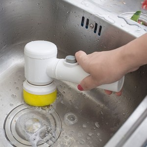 Handheld Electric Cleaning Bru
