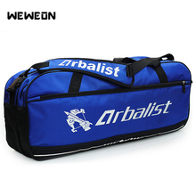 6-9 pcs 대형 운동 선수 테니스 가방 방수 배드민턴 가방 라켓 스포츠 핸드백 두꺼운 테니스 라켓 가방 액세서리