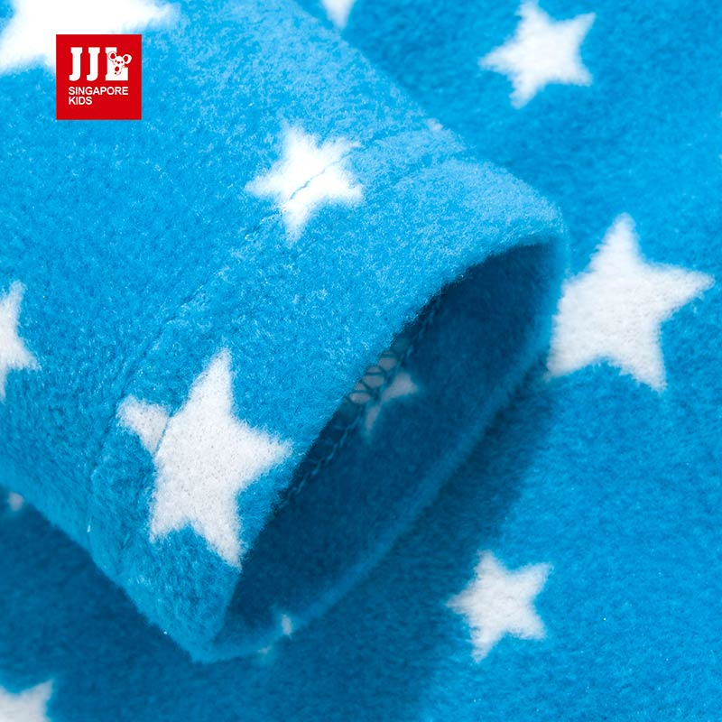 5a3d6947a2 kids suits boys sleepwear pajamas for kids winter polar fleece children s  sets star pattern baby boy clothing set nightwear-in Clothing Sets from  Mother ...
