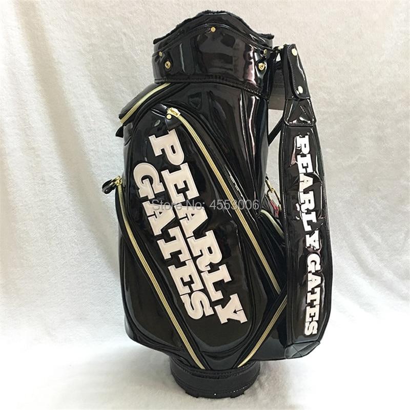 New Smilling Face Golf Bag Pearly Gates Men Women Full Clubs Set PU ... c33c6840fe36
