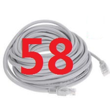 58#B 2018 Cable High Speed 1000M RJ45 CAT6 Ethernet Network Flat LAN Cable UTP Patch Router Cables