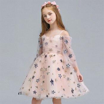 d91692477c11 Vestidos para chicas adolescentes verano 2019 niños algodón rayas fiesta  vestidos para chicas ...