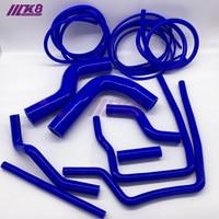 Silicone Hose kit For SUBARU IMPREZA GC8 GF8 STI EJ20 WRX 96 00 TURBO + Vacuum Hose Kit red/blue/black