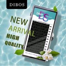 Dibos все размеры 005/007/015/020 b/c/dcurl ресницы индивидуальные
