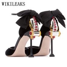 Fetish High Heels Sandals Women Designer Shoes Woman Wedding