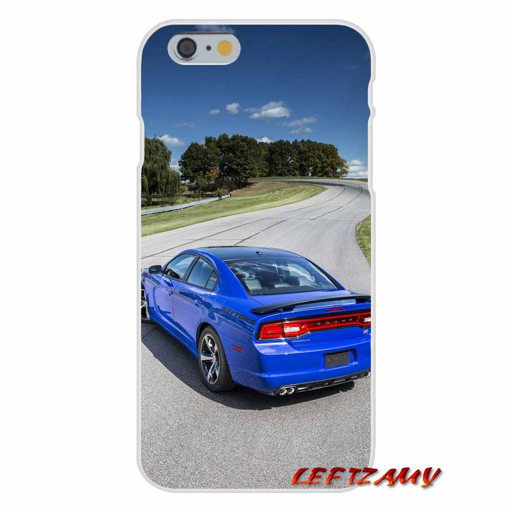 TPU Transparent Shell Cover Dodge Charger Srt 8 Super Bee For Xiaomi Redmi 3 3S 4A 5A Pro Mi4 Mi4C Mi5S Mi6X Mi Max2 Note 3 4 5A