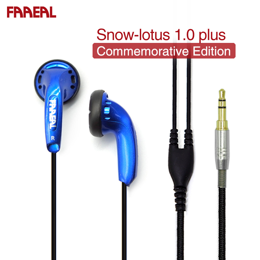 FAAEAL Neve-lotus 1.0 +/1.0 Plus Azul 64 Ohm Hifi Fone de Ouvido Fones de Ouvido Edição Comemorativa Limitada Venda